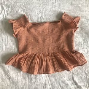 Cutest ruffle top